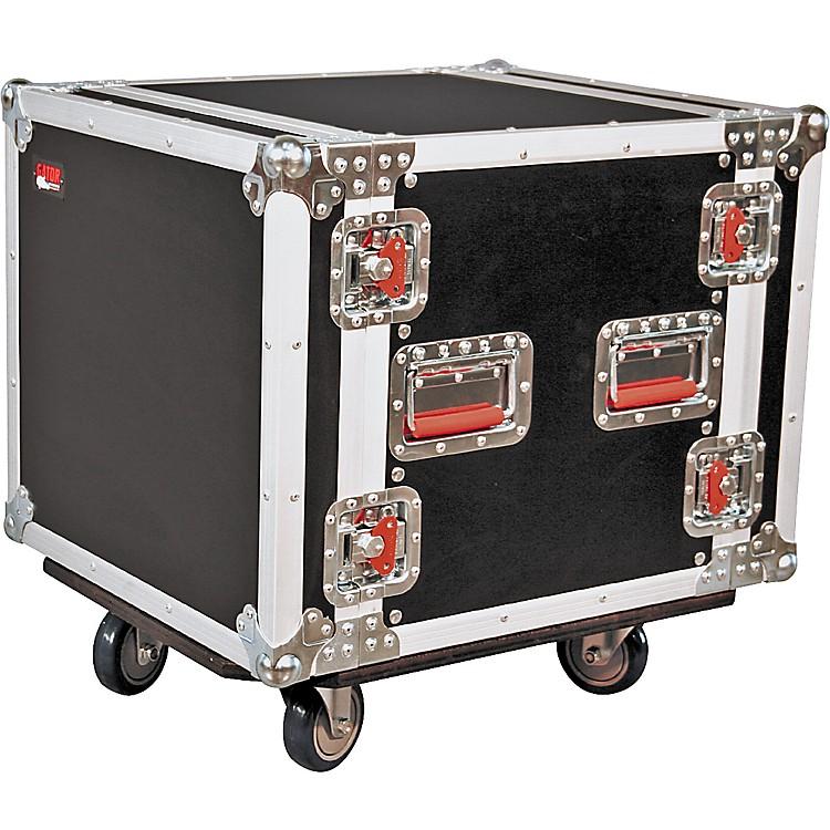 GatorG-Tour 10U Cast Rack Road Case with Casters