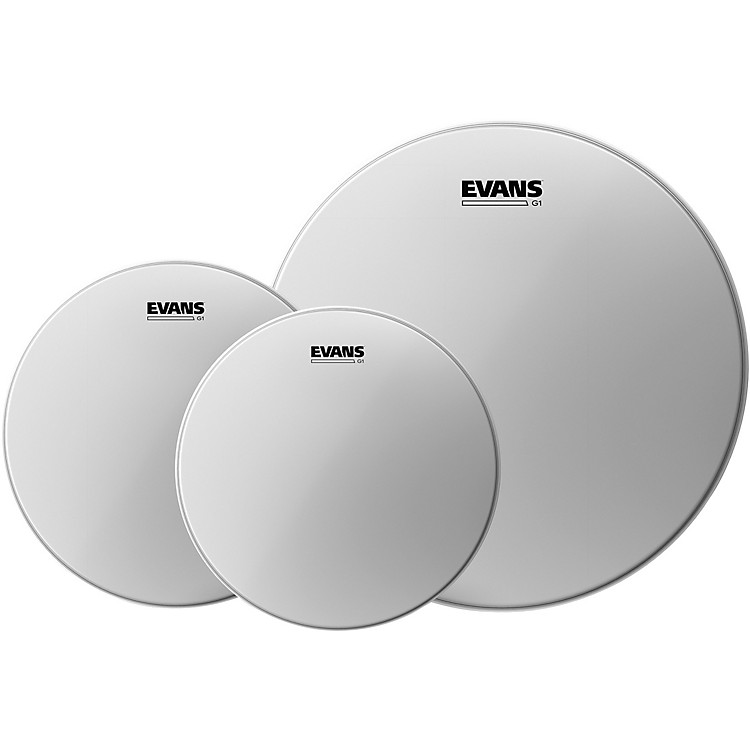Evans G1 Coated Drumhead Pack Rock - 10/12/16