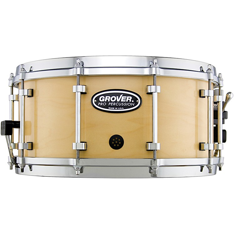 Grover Pro G1 Symphonic Snare Drum Natural Lacquer 14 x 5 in.