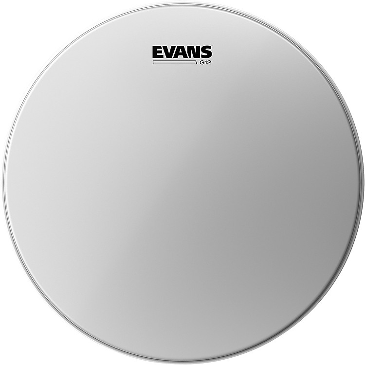 Evans G12 Coated White Batter Drumhead 18 in.