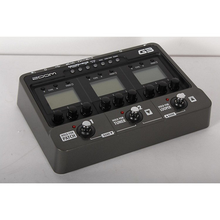 ZoomG3 Guitar Multi Effects Pedal and Looper888365901886