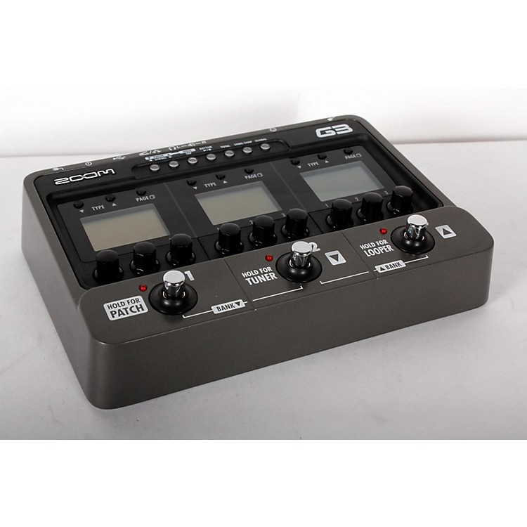 Zoom G3 Guitar Multi Effects Pedal and Looper  888365905563