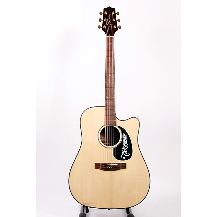 Takamine G340SC Solid Top Cutaway Dreadnought Acoustic Guitar Regular 886830725098