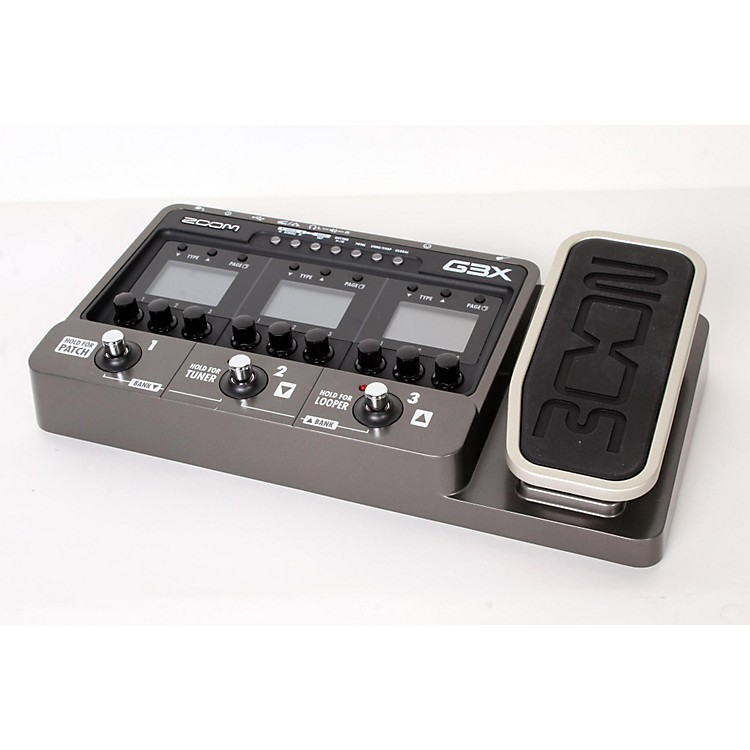 Zoom G3X Guitar Effects & Amp Simulator Pedal  888365902760