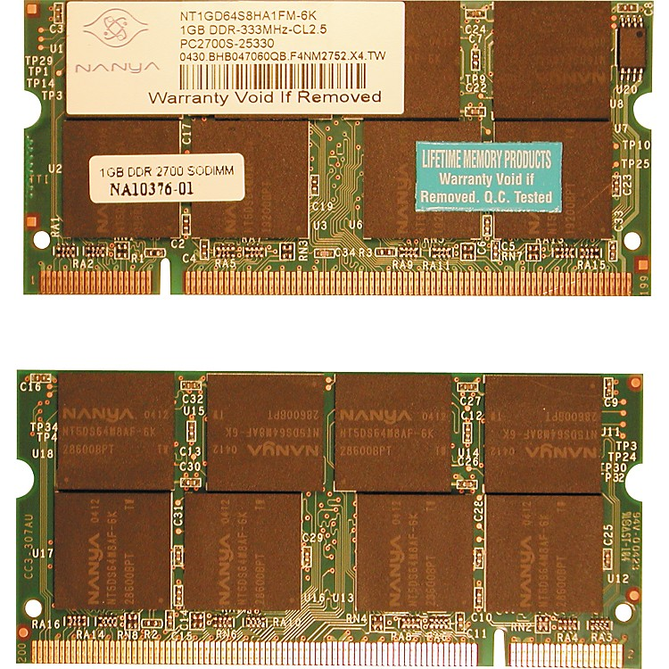 Lifetime Memory Products G4 Powerbook (Aluminum) Memory
