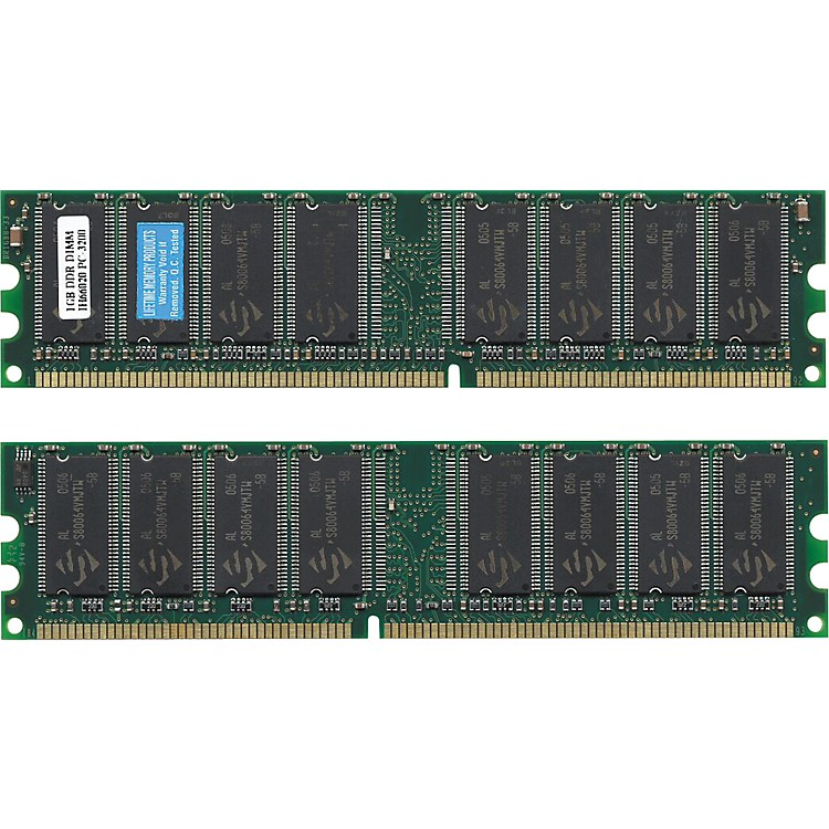 Lifetime Memory Products G5 iMAC Memory PC3200 400MHz DDR SDRAM