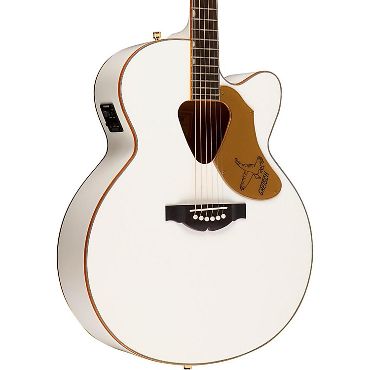 Gretsch Guitars G5022CWFE Rancher Falcon Cutaway Acoustic-Electric Guitar White