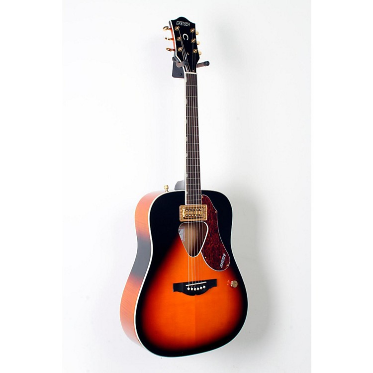 Gretsch Guitars G5031FT Rancher Acoustic-Electric Guitar Sunburst 888365806884