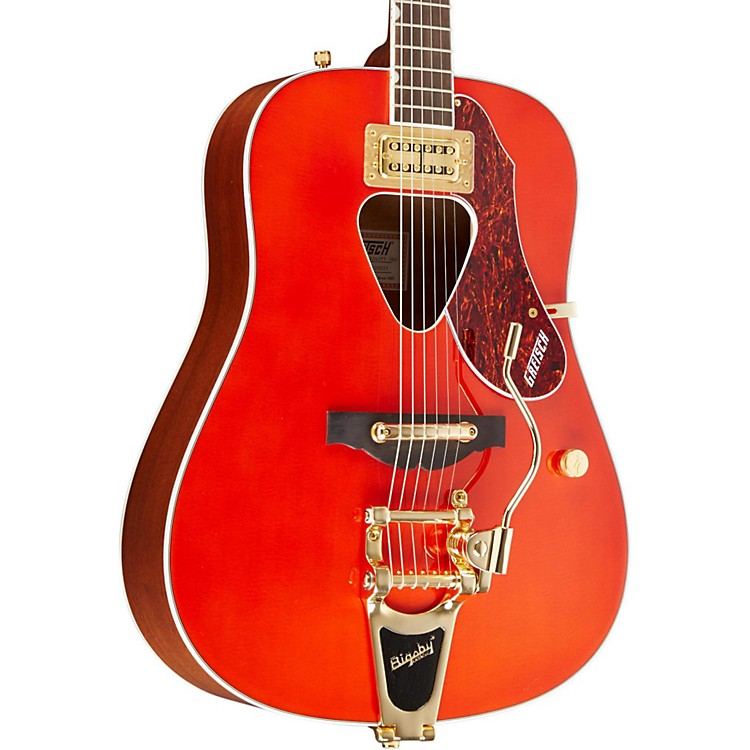 Gretsch GuitarsG5034TFT Rancher Dreadnought Acoustic GuitarSavannah Sunset
