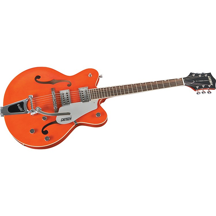 Gretsch Guitars G5122 Double Cutaway Electromatic Hollowbody Electric Guitar Orange