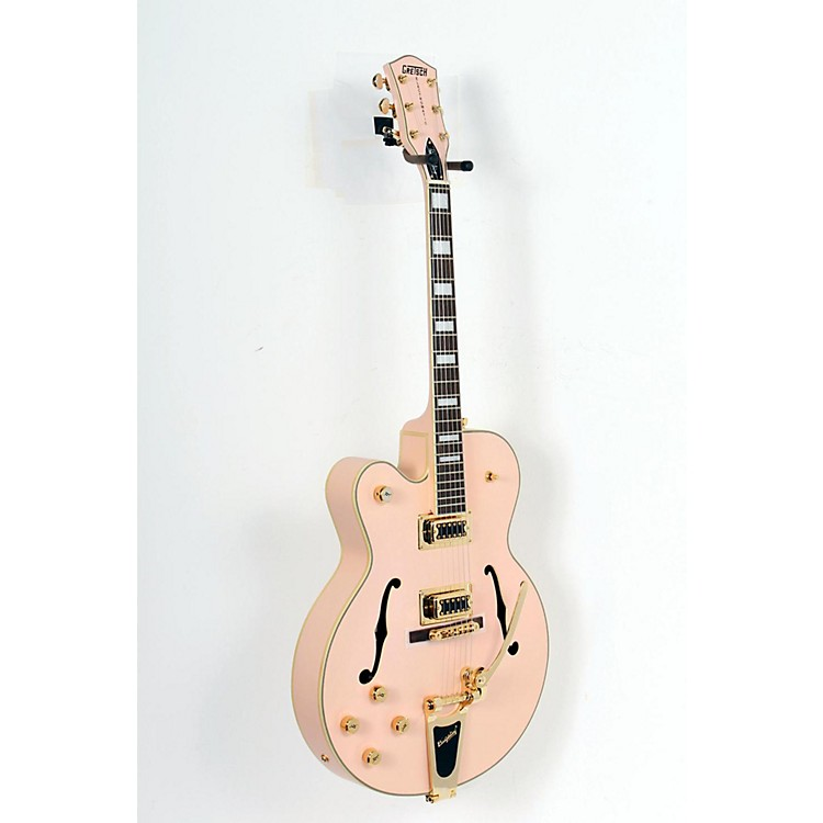 Gretsch Guitars G5191TMS Tim Armstrong Electromatic Left-Handed Hollowbody Guitar Man Salmon 888365141954