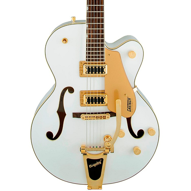 Gretsch Guitars G5420T Electromatic Hollow Body Electric Guitar Snow Crest White