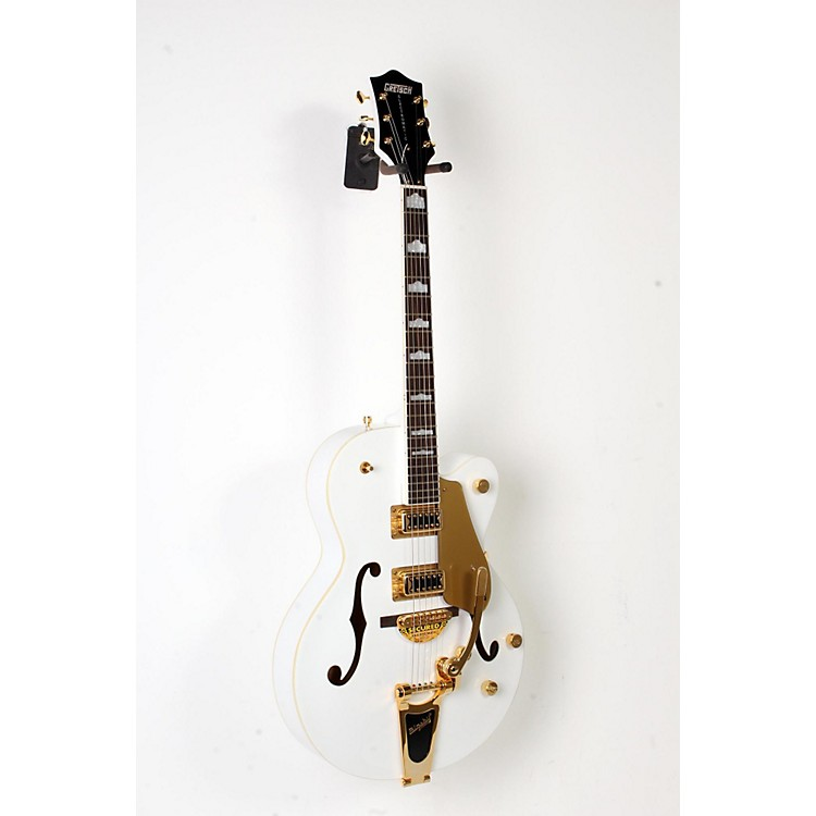 Gretsch Guitars G5420T Electromatic Hollowbody Electric Guitar White, Gold Hardware 888365911496