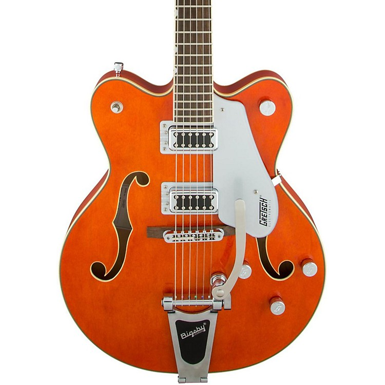 Gretsch GuitarsG5422T Electromatic Double Cutaway Hollowbody Electric GuitarOrange Stain