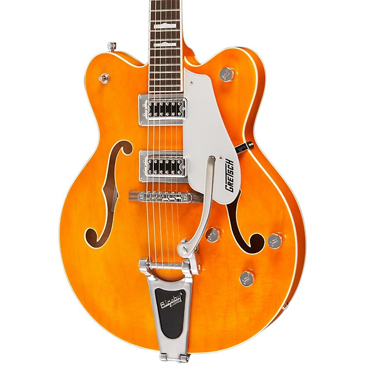 Gretsch Guitars G5422T Electromatic Hollowbody FSR Electric Guitar Amber Stain