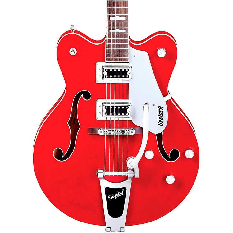 Gretsch Guitars G5422TDC Electromatic Hollowbody Guitar Transparent Red