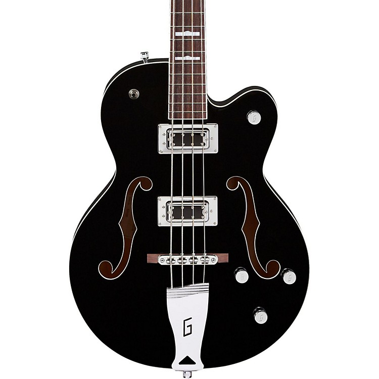 Gretsch Guitars G5440LS Electromatic Long Scale Hollowbody Bass Black