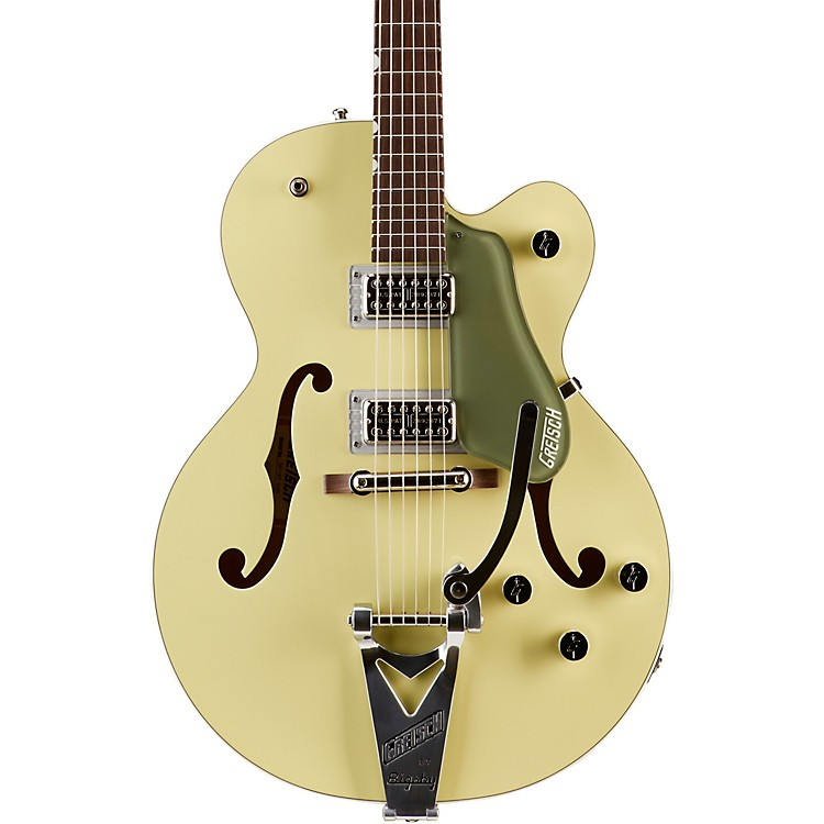 Gretsch GuitarsG6118T Anniversary with Bigsby Hollowbody Electric Guitar2-Tone Smoke Green