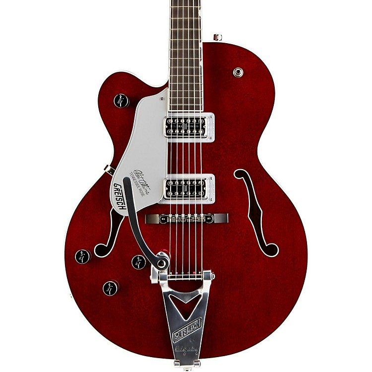 Gretsch Guitars G6119LH Left-Handed Chet Atkins Tennessee Rose Electric Guitar Deep Cherry Stain