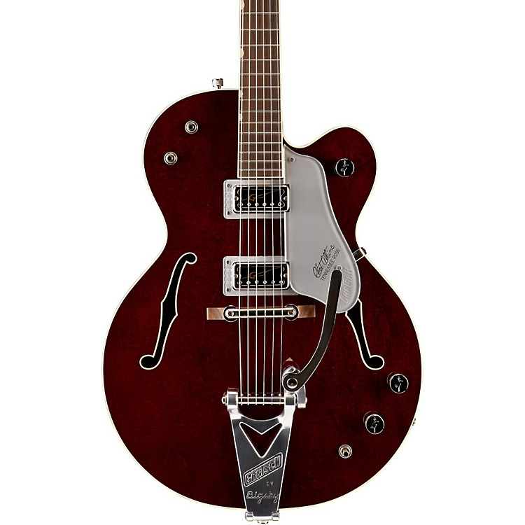 Gretsch Guitars G6119T-62 Vintage Select Edition '62 Tennessee Rose Hollowbody with Bigsby Dark Cherry Stain