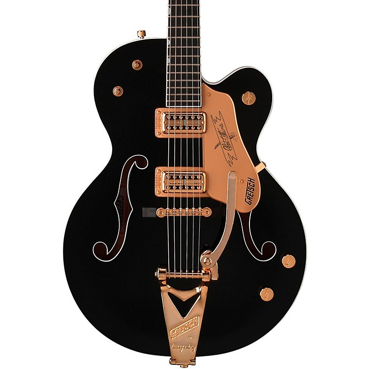 Gretsch Guitars G6120 Chet Atkins Hollowbody Electric Guitar Black