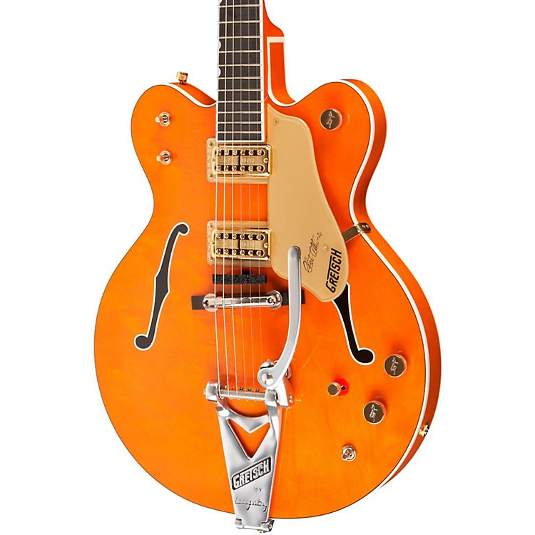 Gretsch Guitars G6120DC Chet Atkins Nashville Electric Guitar Western Maple Stain