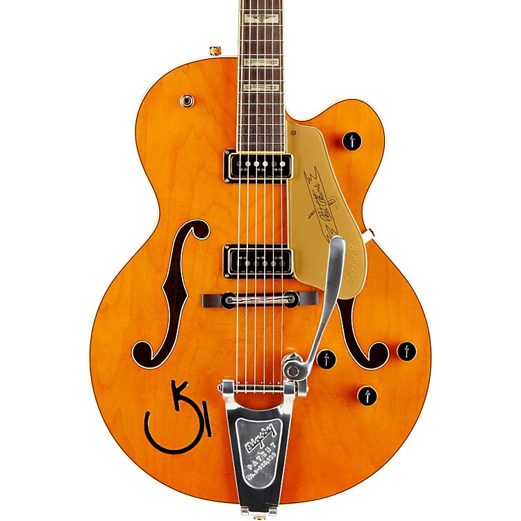 Gretsch Guitars G6120DSW Chet Atkins Hollowbody Electric Guitar Western Maple Stain