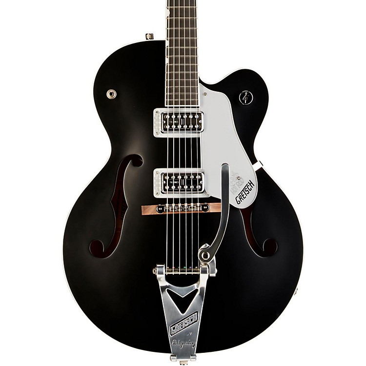 Gretsch Guitars G6120SH Brian Setzer Hot Rod Flat Black