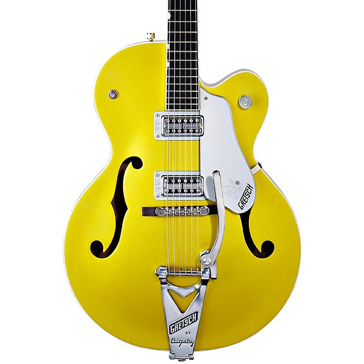 Gretsch Guitars G6120SH Brian Setzer Hot Rod Lime Gold