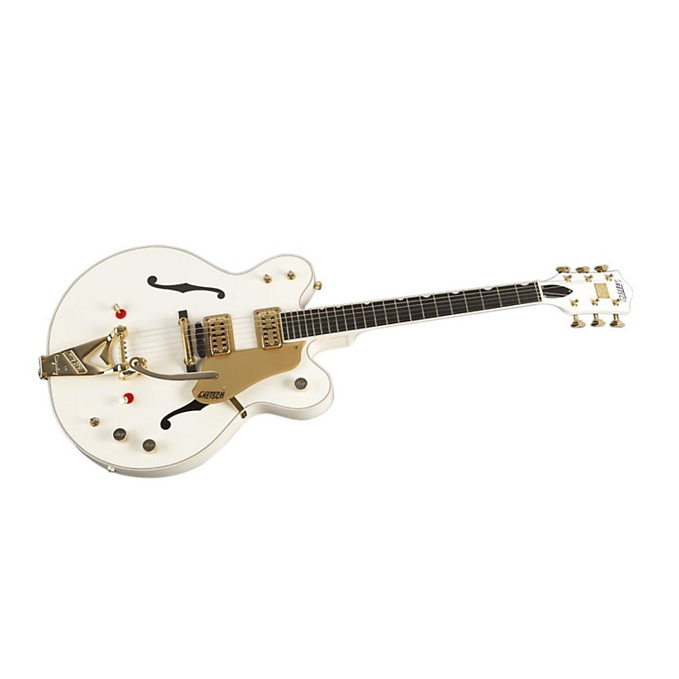 Gretsch Guitars G6122-1962T-TV Country Gentleman Limited Custom Color Electric Guitar White