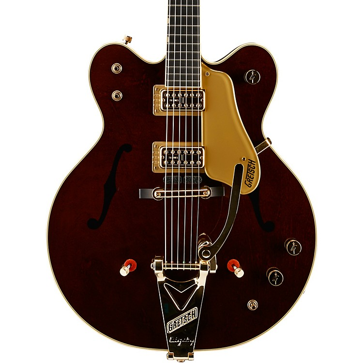 Gretsch GuitarsG6122T-62GE Vintage Select Edition 1962 Chet Atkins Country Gentleman Hollowbody Electric GuitarWalnut Stain