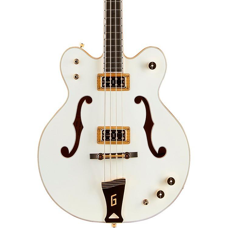 Gretsch GuitarsG6136LSB White Falcon Bass GuitarWhite