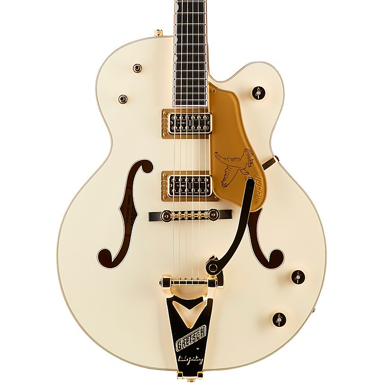 Gretsch GuitarsG6136T-59 Vintage Select Edition '59 Falcon Hollowbody with BigsbyVintage White