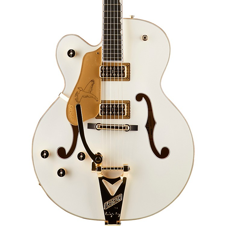 Gretsch GuitarsG6136T White Falcon Left-Handed Hollowbody with Bigsby Electric GuitarWhite