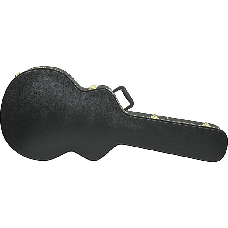 gretsch guitars g6241 deluxe black case black music123. Black Bedroom Furniture Sets. Home Design Ideas