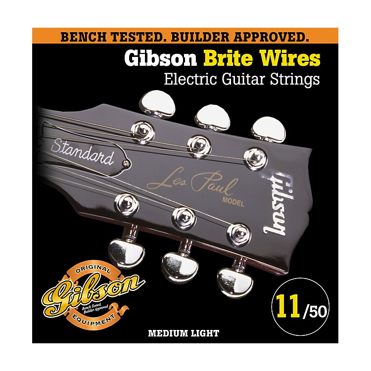 GibsonG700ML Medium Light Brite Wires Electric Guitar Strings
