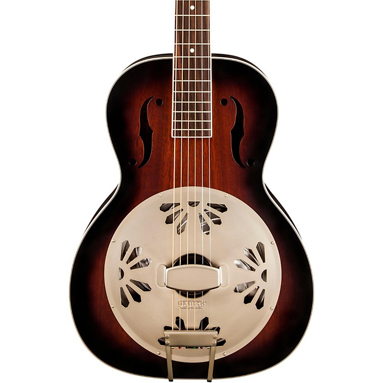 Gretsch Guitars G9240 Alligator Biscuit Round Neck Resonator 2-ToneSunburst