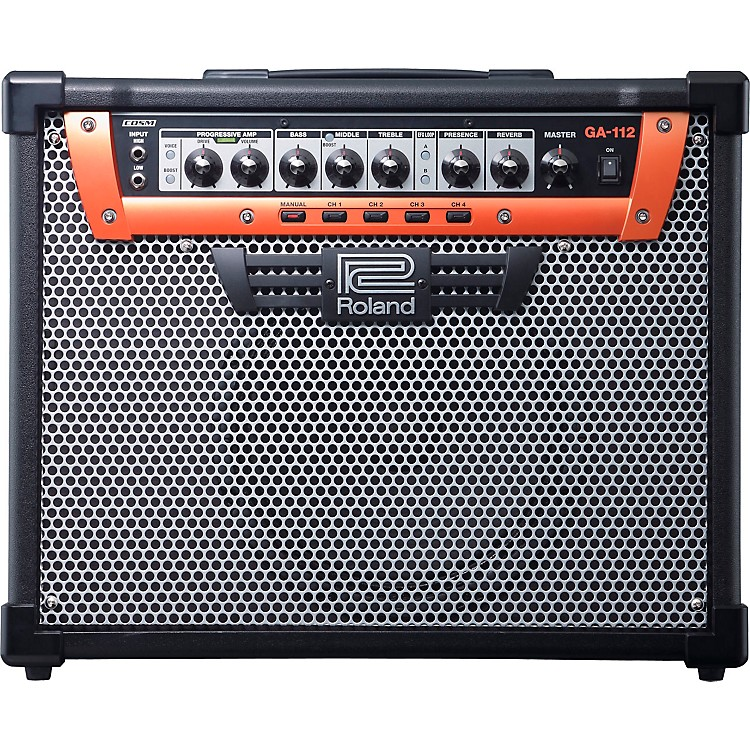 Roland GA-112 1X12 100W Guitar Combo Amplifier Black