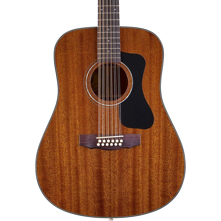 Guild GAD Series D-125-12 12-String Dreadnought Acoustic Guitar Natural
