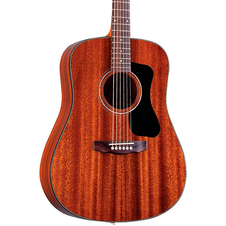 Guild GAD Series D-125 Dreadnought Acoustic Guitar Natural
