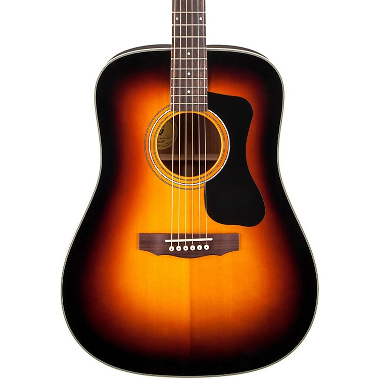 Guild GAD Series D-140 Dreadnought Acoustic Guitar Sunburst