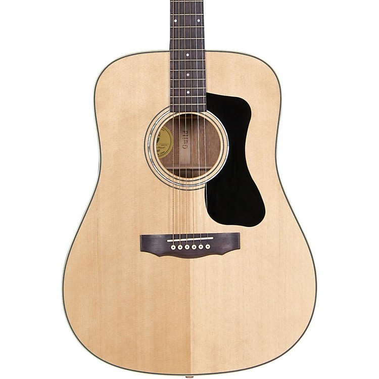 Guild GAD Series D-150 Dreadnought Acoustic Guitar Natural