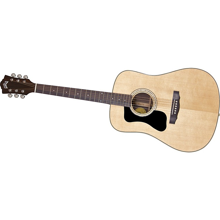 Guild GAD Series D-150L Left-Handed Dreadnought Acoustic Guitar Natural
