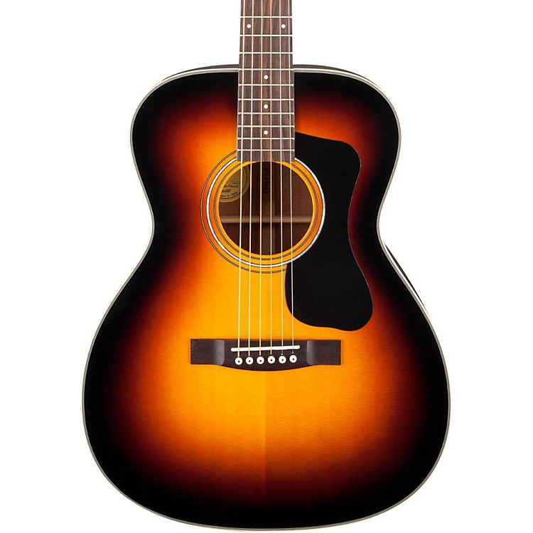 Guild GAD Series F-130 Orchestra Acoustic Guitar Sunburst