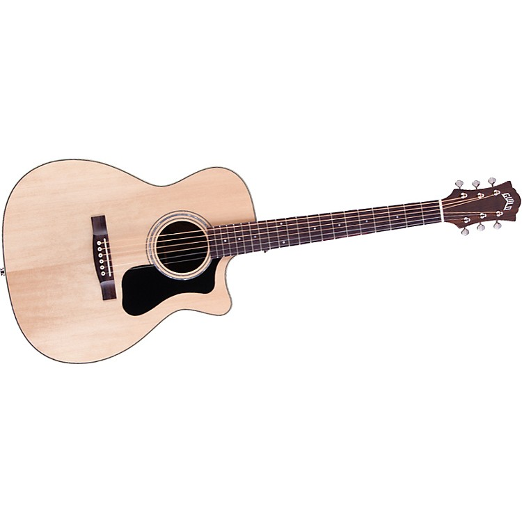 Guild GAD Series F-130RCE Orchestra Acoustic-Electric Guitar