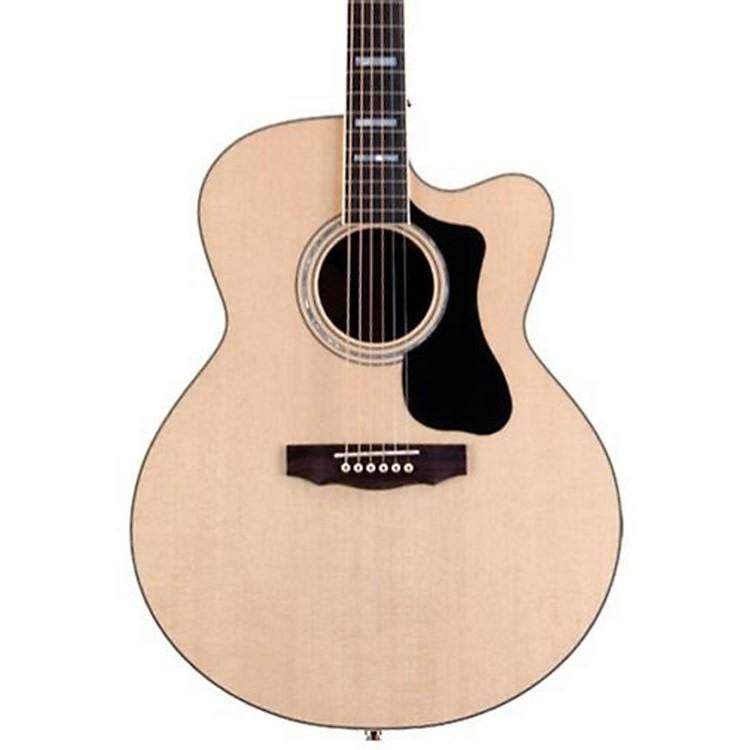 GuildGAD Series F-150RCE Jumbo Acoustic-Electric GuitarNatural