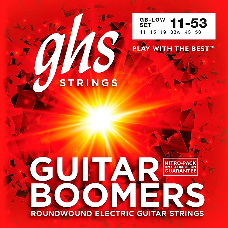 GHSGB-LOW Boomers Low Tune Electric Guitar Strings