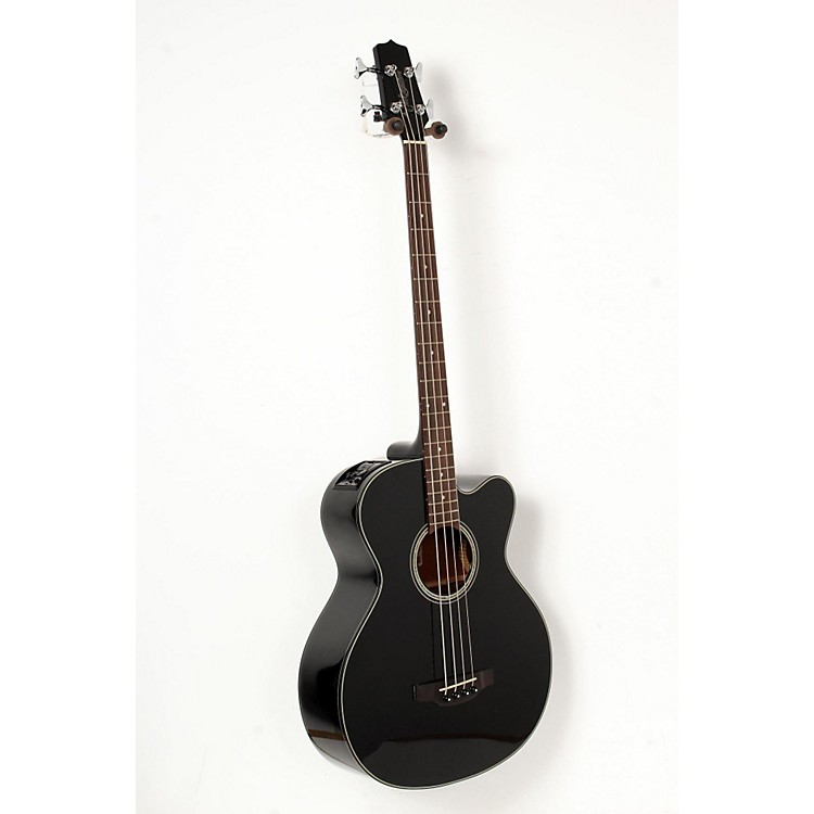 Takamine GB30CE Acoustic-Electric Bass Guitar Black 888365845975