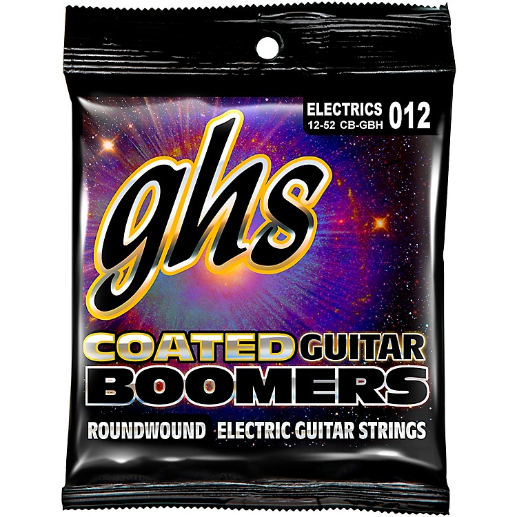 GHSGBH Coated Boomers Heavy Electric Guitar Strings