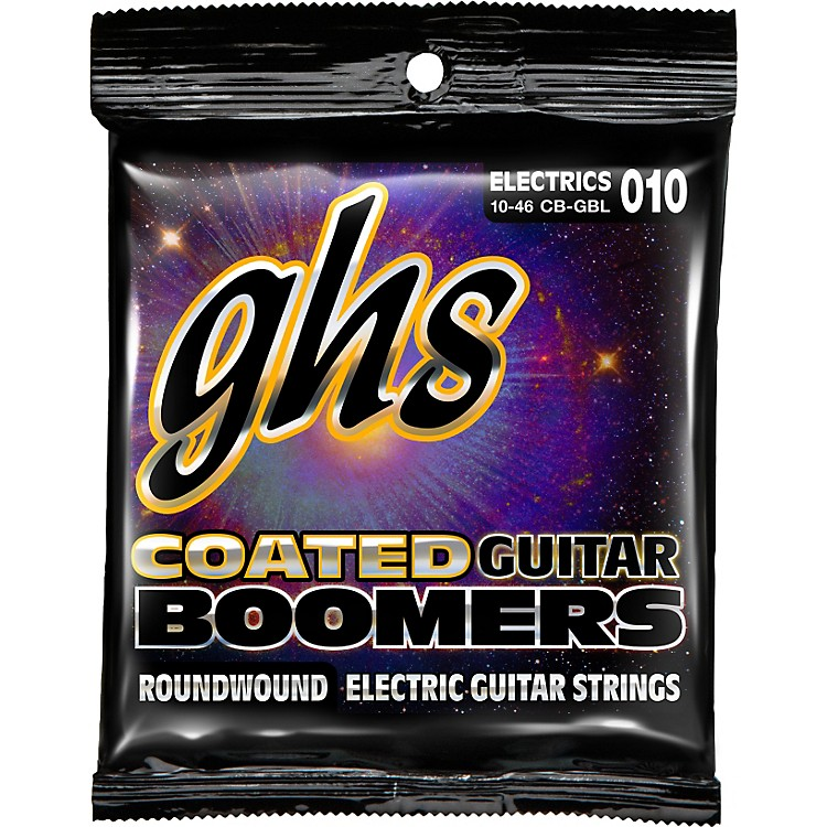 GHSGBL Coated Boomers Light Electric Guitar Strings